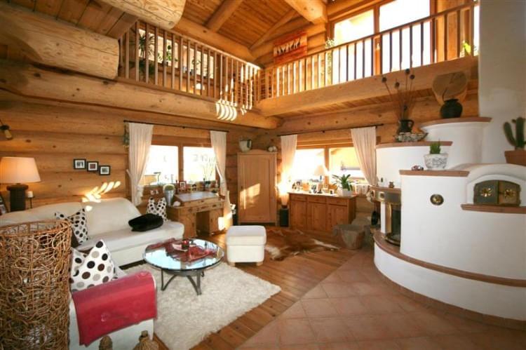 innenausbau real canadian cedar homes st johann in tirol. Black Bedroom Furniture Sets. Home Design Ideas