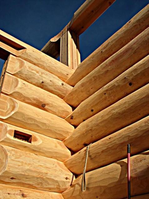 handwerkskunst real canadian cedar homes st johann in. Black Bedroom Furniture Sets. Home Design Ideas