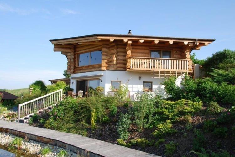 projekt g ssing real canadian cedar homes st johann. Black Bedroom Furniture Sets. Home Design Ideas