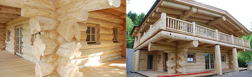 Kanadisches blockhaus modern  Informationen - Real Canadian Cedar Homes - St. Johann in Tirol